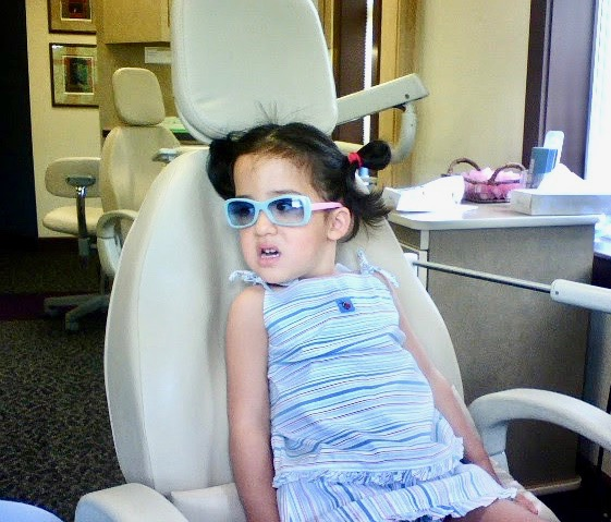 my daughter has been seeing dentists every 3 months since she was very young