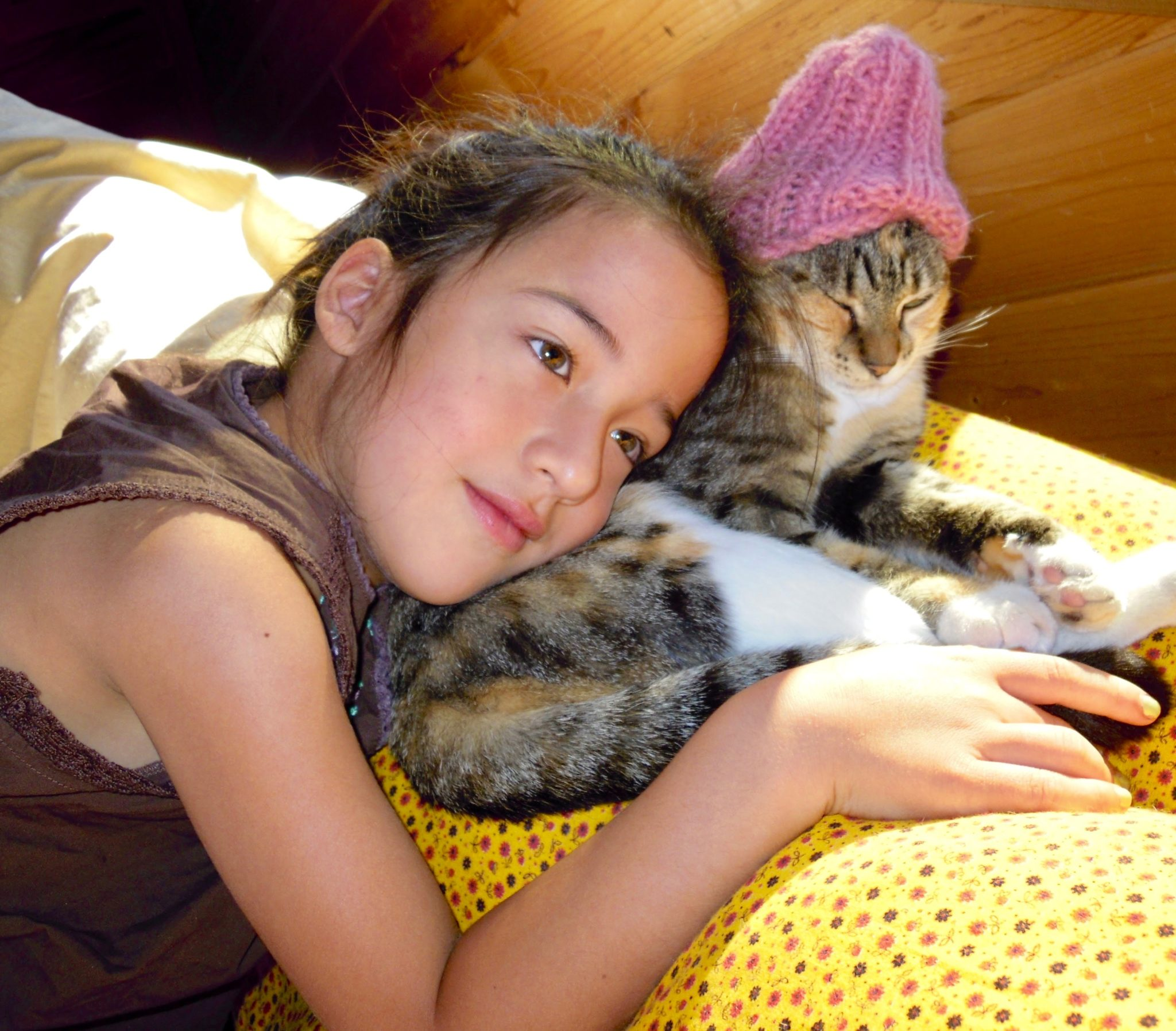 pets are part of my daughter's life