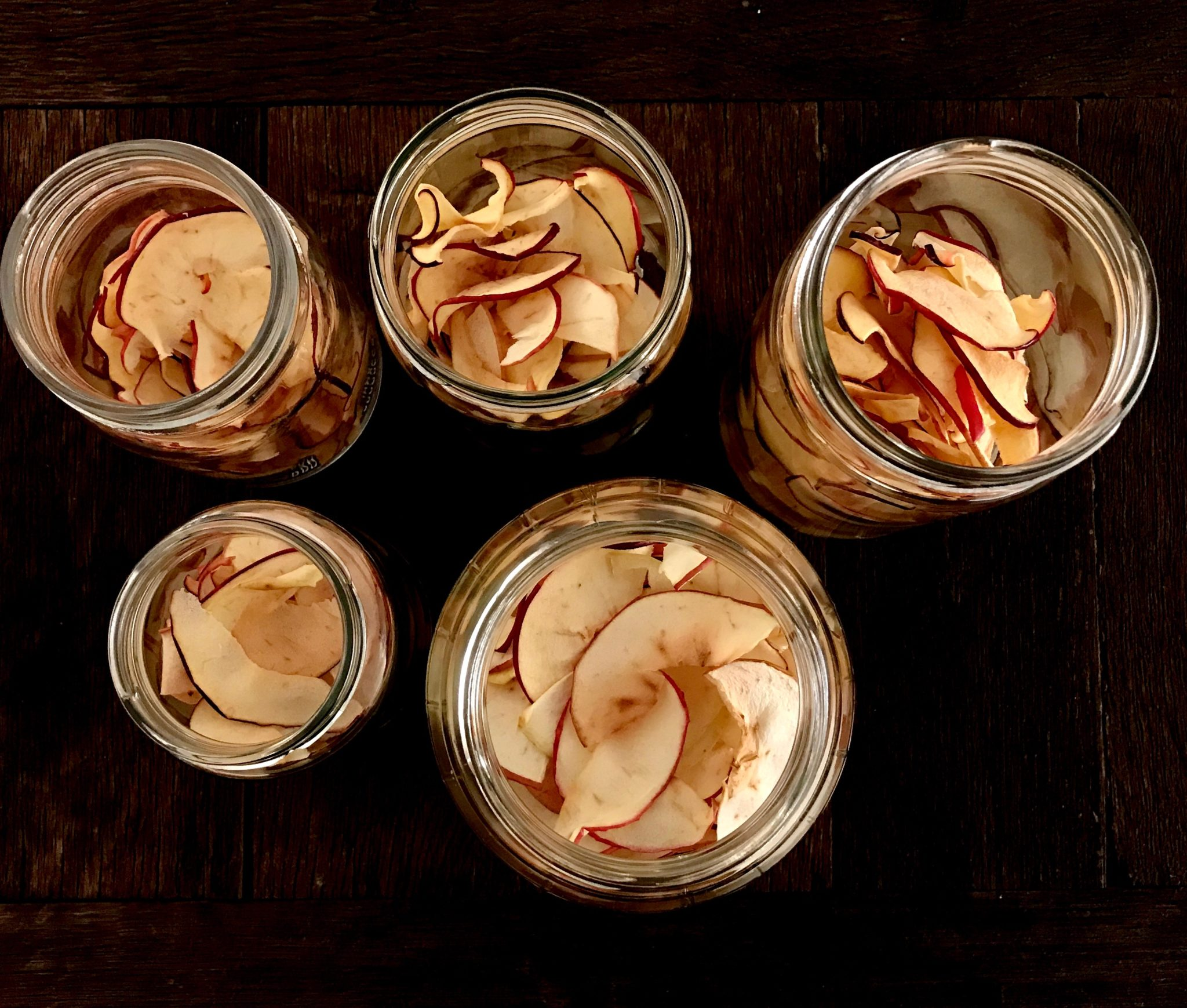 store them in glass jars