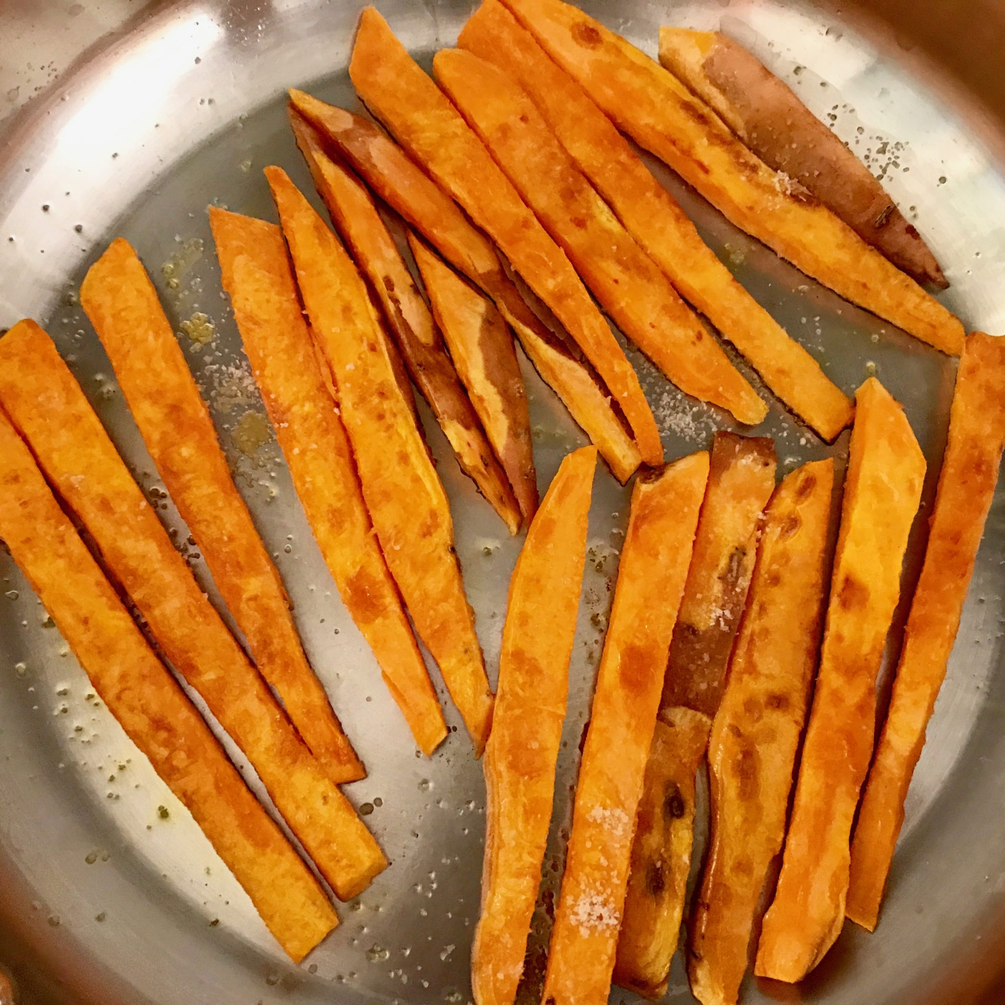 fry them in a pan with a little bit of good oil