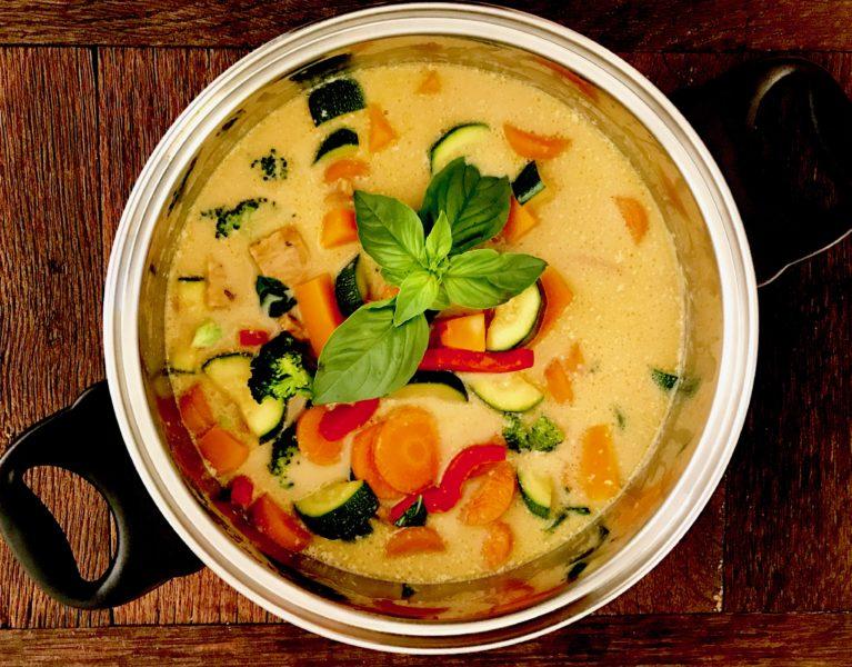 thai green curry tempeh--gourmetvegetariankitchen.com