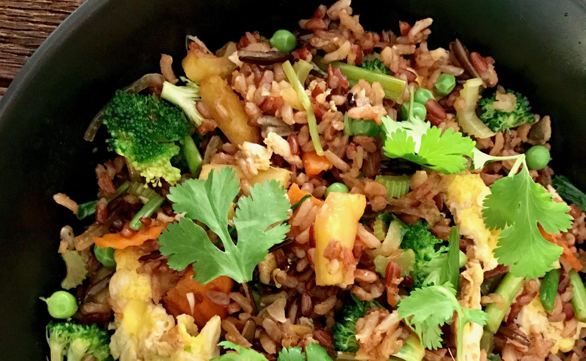 garnish it with cilantro, and enjoy!