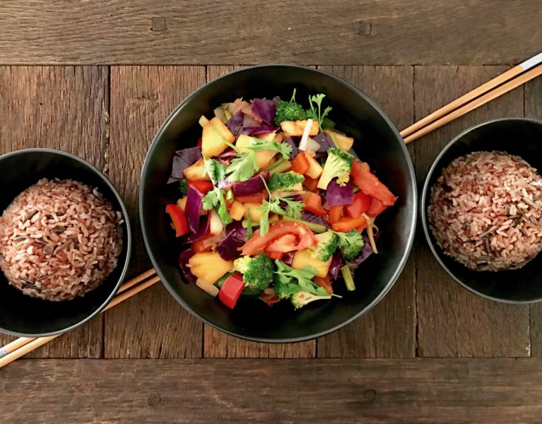 enjoy it with a bowl of rice, or even better with fermented whole rice!