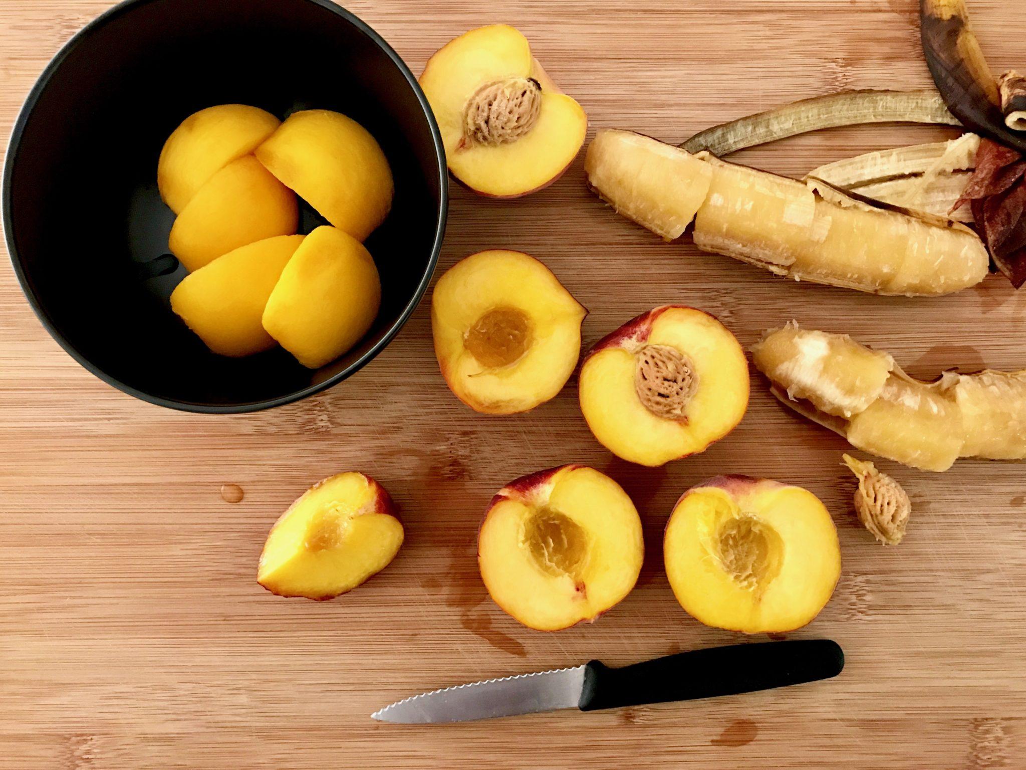 stewed peaches & nectarines